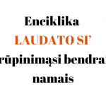 Enciklika LAUDATO SI' apie rūpinimąsi bendraisiais namais